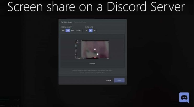 How To Enable Screen Share On Discord Server