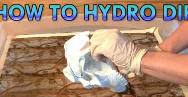 How To Hydro Dip