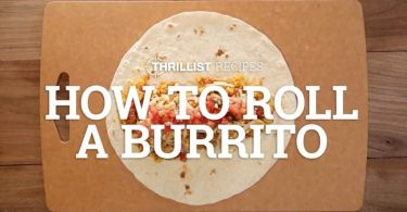 How To Roll A Burrito