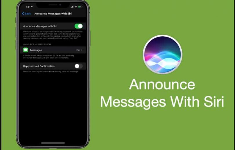 How to Use and Manage Announce Messages with Siri