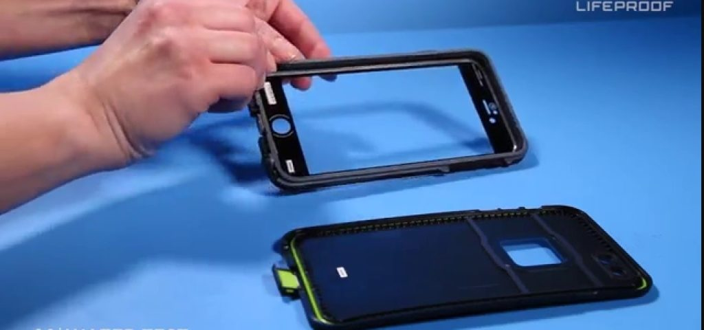 Remove the Lifeproof cases front
